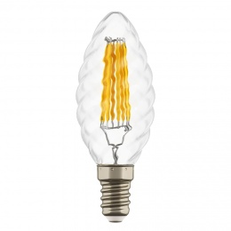 Лампа LED FILAMENT C35 E14 6W 220V 3000K 360G CL Lightstar 933702